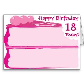 Happy 18th Birthday Cards