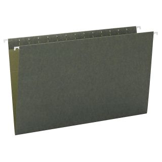 Smead Premium Quality Hanging Folders Without Tabs Legal Size Standard Green Pack Of 25