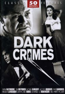 Dark Crimes: 50 Movie Set (DVD) Mystery & Suspense