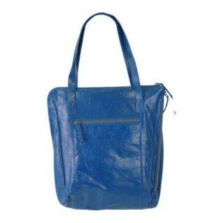 Women's Latico Clark Tote 7563 Blue Leather Latico Shoulder Bags