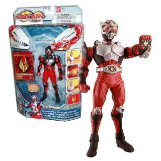 Bandai Year 2009 Kamen Rider Dragon Knight TV Series 6 Inch Tall Action Figure   DRAGON KNIGHT with Advent Card: Toys & Games