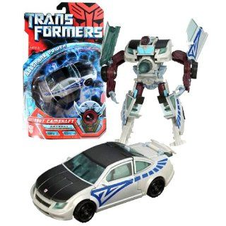 Hasbro Year 2007 Transformers Movie Allspark Power Series Deluxe Class 6 Inch Tall Robot Action Figure   Autobot CAMSHAFT with Extending Torso Cannon (Vehicle Mode: Coupe): Toys & Games