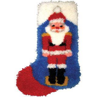 "Latch Hook Kit 12""X17"" Nutcracker MCG Textiles Latch Hook Kits"