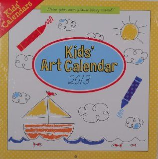 Kids Art Calendar 2013 Coloring: Office Products