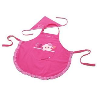 Animal Series Kids Apron & Head Wrap   iswas