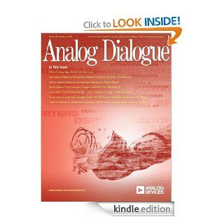 Analog Dialogue, Volume 44, Number 4 eBook: Matthew Duff, David Brandon, Neil Zhao, Joseph Towey, Mark Looney, Ken Kavanagh, Wenshuai Liao, Henri Sino, Dan Sheingold, Scott Wayne: Kindle Store
