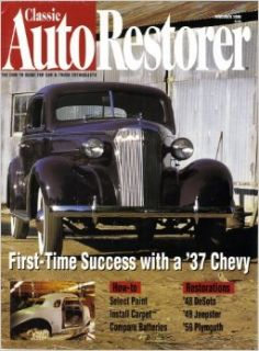 Classic Auto Restorer November 1996 magazine Volume 8 Number 11: Dan Burger: Books