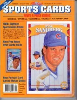 Allan Kaye's SPORTS CARDS: News & Price Guides; Number 9 August 1992 (Ryne Sandberg cover) (Number 9): Allan Kaye: Books