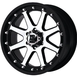 XD XD798 17x9 Machined Black Wheel / Rim 8x180 with a 18mm Offset and a 124.20 Hub Bore. Partnumber XD79879088518: Automotive