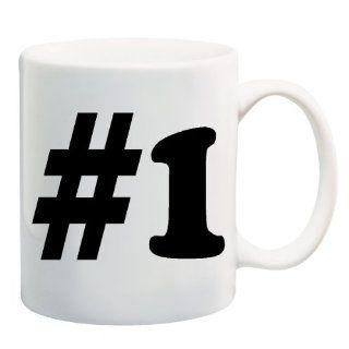 #1 Number One Mug Coffee Cup 11 oz