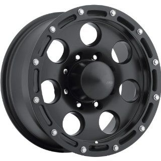American Eagle 137 16 Matte Black Wheel / Rim 8x170 with a  4mm Offset and a 130.18 Hub Bore. Partnumber 13797887 Automotive