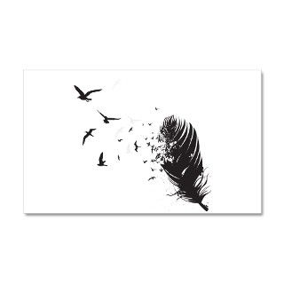 Flying Macaw Parrot Bird Wall Decal by petdrawings