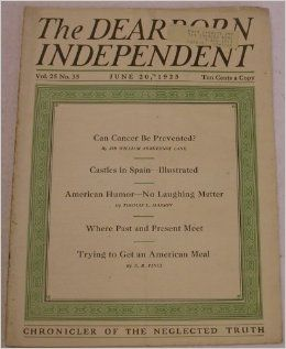 The Dearborn Independent (June 20, 1925 Volume 25, Number 35): Henry Ford: Books