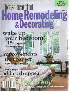 House Beautiful Home Remodeling and Decoration Summer 1998 Volume 35 Number 2: Lucy Cohen: Books