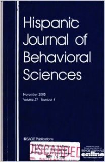 Hispanic Journal of Behavioral Sciences, November 2005, Number 4 (Volume 27): Jean S Phinney, Jessica M Dennis, Delia M Gutierrez, Ricardo Villarreal, Shelly A Blozis, Keith F Widaman, Sheri Bauman, Brenda A Smith, Sharon Thompson, Joe Tomaka, Amado M Padi