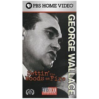 George Wallace: Settin' the Woods on Fire [VHS]: Randy Quaid, J.L. Chestnut, Bob Ingram, George Wallace Jr., Peggy Wallace Kennedy, Cornelia Wallace, Pat Buchanan, Dan T. Carter, George Wallace (IV), Daniel McCabe, Paul Stekler: Movies & TV