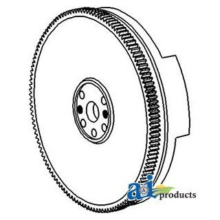 A & I Products Flywheel w/ Ring Gear Replacement for John Deere Part Number A: Industrial & Scientific