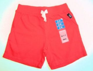 Carter's Baby Boys French Terry Shorts (3m 5t)(sz. 3t) Red: Clothing
