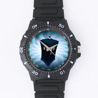 Custom Doctor Who Watches Black Plastic High Quality Watch WXW 1102: Watches