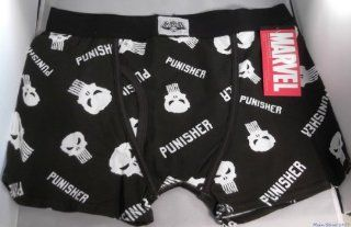 Marvel Comics PUNISHER Logo Black BOXER BRIEFS   Size LG: Everything Else