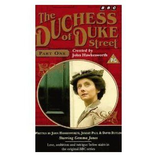 The Duchess of Duke Street [VHS]: Gemma Jones, Victoria Plucknett, John Welsh, John Cater, Richard Vernon, Mary Healey, Christopher Cazenove, Sammie Winmill, Holly De Jong, June Brown, Bryan Coleman, John Rapley, John Hawkesworth: Movies & TV