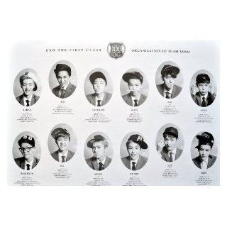 7166 m Exo K the First Class Korean Boy Band Wall Decoration Poster Print Great Gift for Men and Women/ramakian
