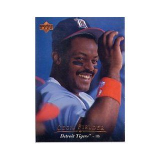1995 Upper Deck #425 Cecil Fielder: Sports Collectibles