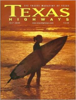 The Nasher Sculpture Center / Traveling Through Big D History: Old City Park / Dining in General Sam's Shadow: A Huntsville Eataway / Surf's Up! Hang Ten in Texas / Lubbock Makes Music Not Fade Away / Life on the Kennedy Ranch a Hundred Years Ago (