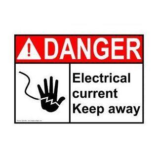 ANSI DANGER Electrical Warning Sign ADE 2690