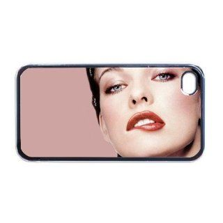 Milla Jovovich Apple iPhone 4 or 4s Case / Cover Verizon or At&T Phone Great unique Gift Idea Cell Phones & Accessories