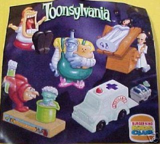 Burger King Toonsylvania 1998 Monster Maker Toy : Other Products : Everything Else
