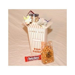 "Amazing ""Giant"" Popcorn Gift Box : Gourmet Gift Items : Grocery & Gourmet Food"