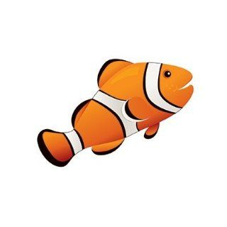 Clown Fish Magnetic Whiteboard Eraser: Toys & Games