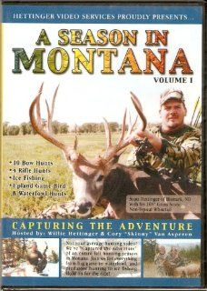 A SEASON IN MONTANA DVD Hunting Deer, Elk, Antelope, Mountain lion, and more Movies & TV