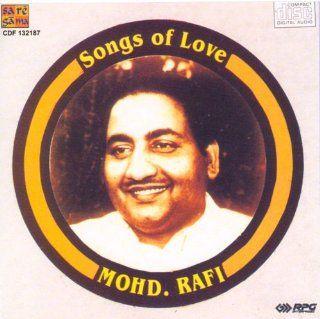 Songs of Love Mohd. Rafi  (Audio CD/Hindi Songs/Love Songs/Indian Music/Foreign Music/ Mohd.Rafi) Music