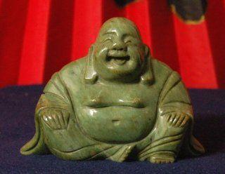 Chinese Jade Garden Buddha Statue Sculpture   Small Size 4x5