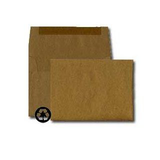A7 Invitation Envelope   70# Text Brown Bag Kraft (5 1/4 x 7 1/4)   Announcement Series (Pkg of 100): Office Products