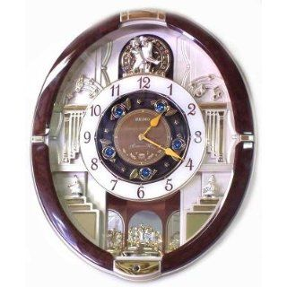 Seiko QXM272BLH Pendulum Wall Clock: Watches