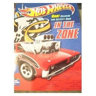 Hot Wheels Giant Coloring and Activity Book: In the Zone!: Toys & Games