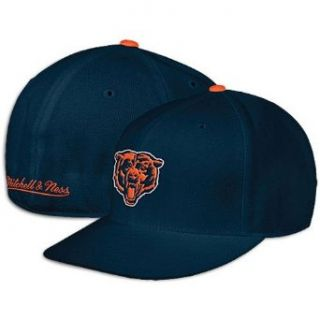 Mitchell & Ness Chicago Bears Fitted Throwback Hat 7 7/8: Sports & Outdoors
