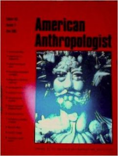 American Anthropologist, Volume 100, Number 2, June 1998: Books