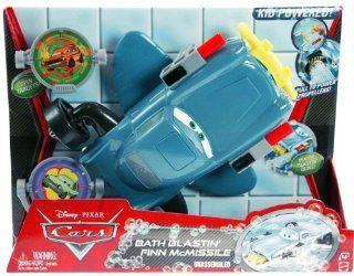 Disney Pixar Cars Bath Blastin' Finn Mcmissile (2 Pieces) Toys & Games