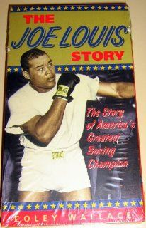 Joe Louis Story [VHS]: Coley Wallace, Hilda Simms, Paul Stewart, James Edwards, John Marley, Dots Johnson, Evelyn Ellis, Carl 'Rocky' Latimer, John Marriott, Ike Jones, P. Jay Sidney, Royal Beal, Joseph C. Brun, Robert Gordon, Dave Kummins, Stirlin