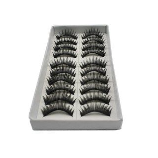 10 Pairs Handmade Fake Eyelashes #106: Beauty