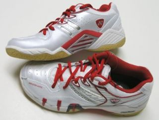 Yonex SHB 102 Womens Badminton shoe (white/red) Shoes