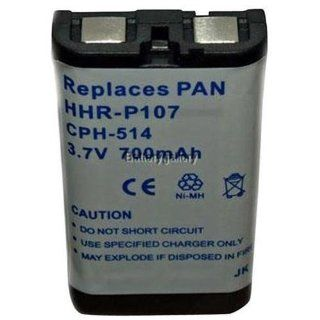 Original Panasonic Ni MH Rechargeable Cordless Phone Battery (HHR P107A/1B) (Not Generic): Electronics