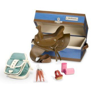 "American Girl Nicki: ""Jackson's Tack Box"" for Nicki Doll's Horse Jackson: Toys & Games"