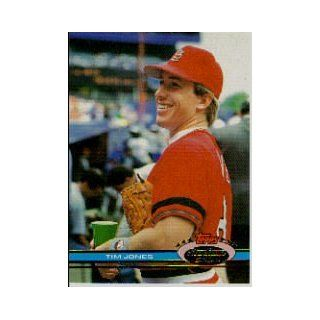 1991 Stadium Club #121 Tim Jones: Sports Collectibles