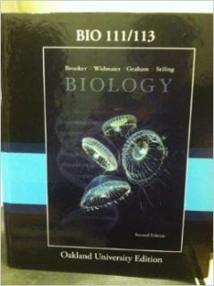 Biology BIO 111/113: Widmaier, Graham, Stiling Brooker: 9780077467159: Books