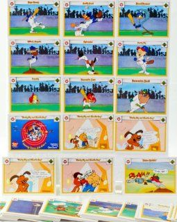 1990   MLB   Upper Deck   Looney Tunes   Comic Ball   129 Cards   Bugs Bunny / Daffy Duck / Road Runner / Wile E. Coyote / Sylvester / Porky Pig + More   Rare   Out of Production   Limited Edition   Collectible
